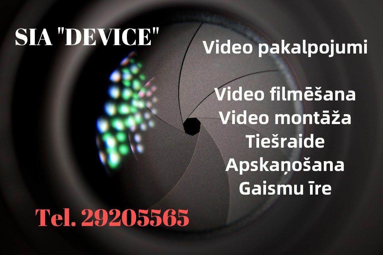 Reklāma - Filmēšana